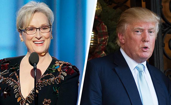 Altın Küre Ödüllü Streep'ten Trump'a sert eleştiri