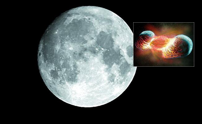 Bilim dünyası Ay'ın nasıl oluştuğu teorisini tartışıyor