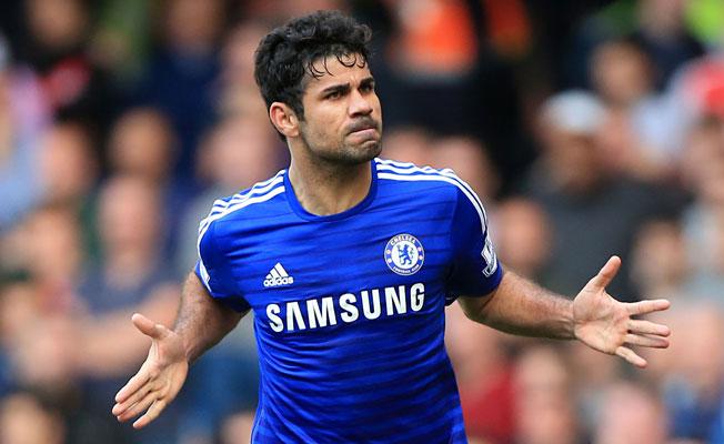 Diego Costa Leicester kadrosunda yok
