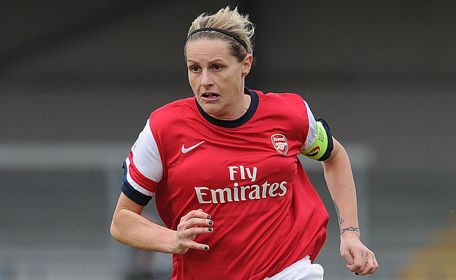 Kadın futbolcu Smith emekli oldu
