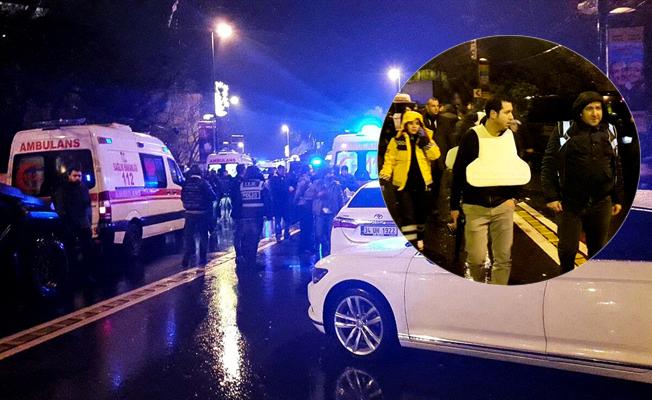 İstanbul Ortaköy'de gece kulübüne silahlı saldırı