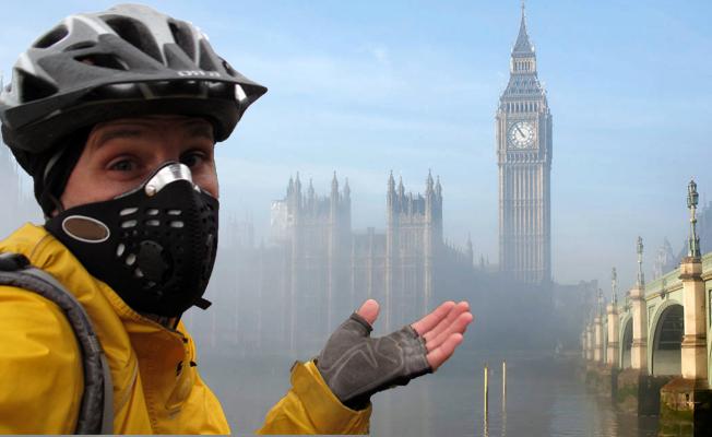 Londra boğuluyor: Oksijen maskesi ile yaşam tartışılıyor