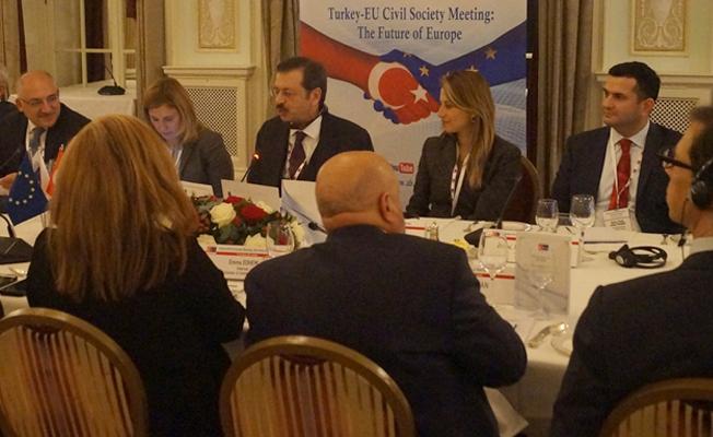 Londra'da 'Türkiye-AB Sivil Toplum Buluşmaları'