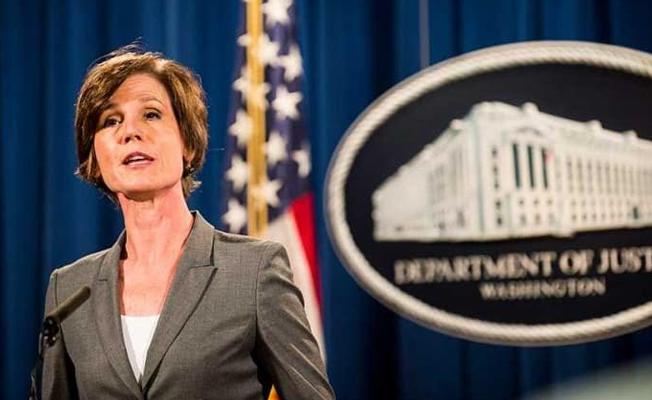 Trump, vize yasağına karşı çıkan Adalet Bakanını görevden aldı