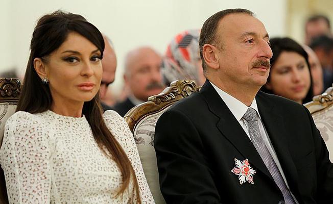 Aliyev, eşi Mihriban Aliyeva'yı cumhurbaşkanı yardımcısı yaptı