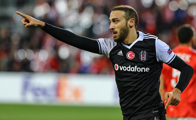 Beşiktaş, İsrail'de avantajı kaptı