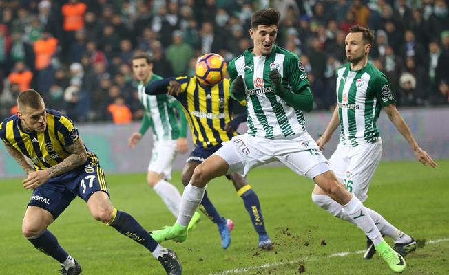 Bursaspor, Fenerbahçe'ye fırsat vermedi