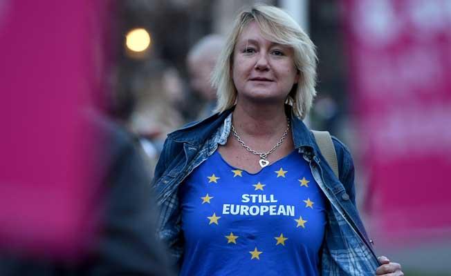 Brexit Yasa Tasarısı'na protesto