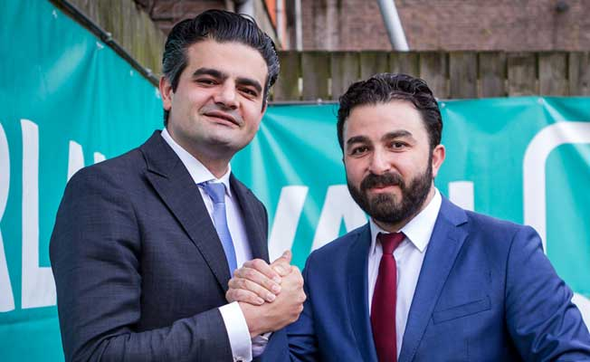 Hollanda'da Denk Partisi'nden çifte başarı!