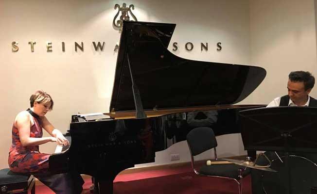 Rüya Taner, Londra'da konser verdi