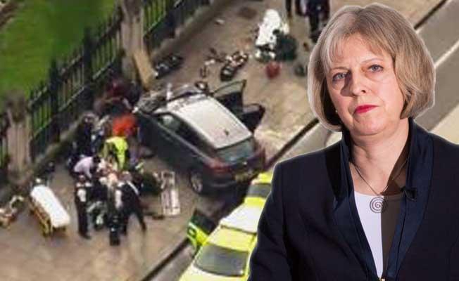 Terör saldırısı sonrası Başbakan May'dan ilk açıklama