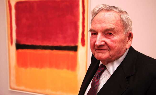 Ünlü milyarder David Rockefeller öldü