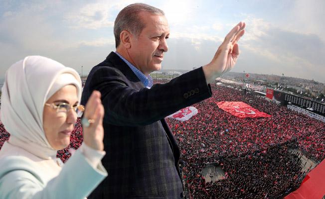 Cumhurbaşkanı Erdoğan'a 'Yenikapı' dopingi