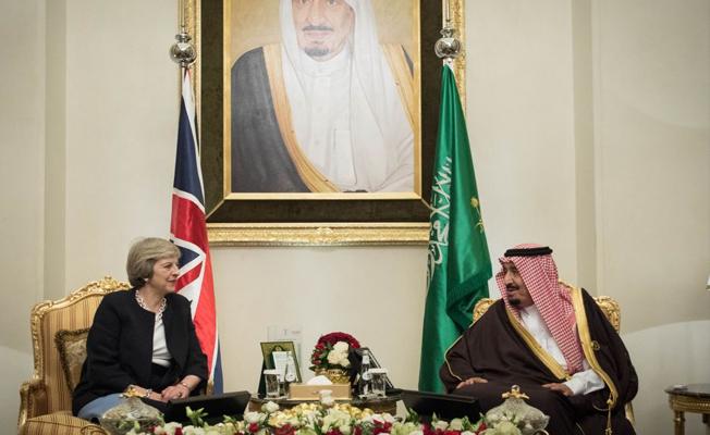 İngiliz Başbakan, Suudi Arabistan veliaht prensi ile görüştü