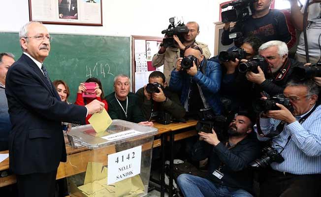 Kılıçdaroğlu'nun oy kullandığı sandıktan çıkan sonuç
