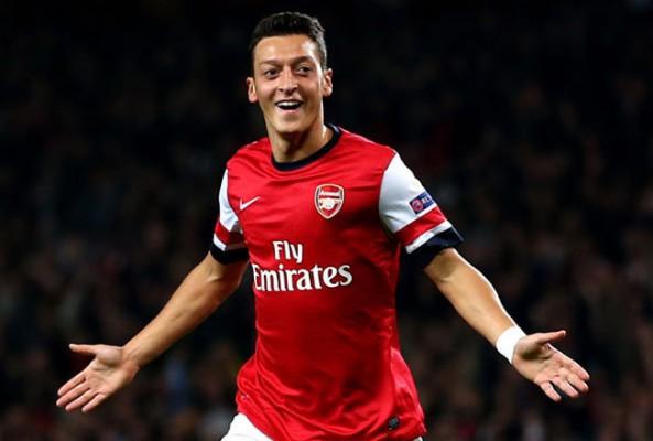 Mesut, Arsenal'e galibiyeti getirdi