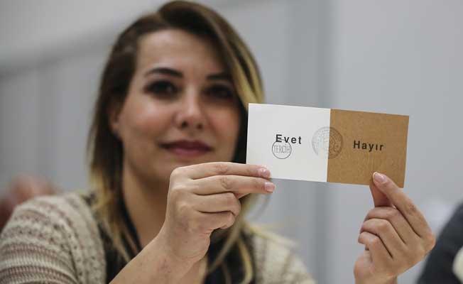 Yurt dışı referandum sonuçları açıklandı