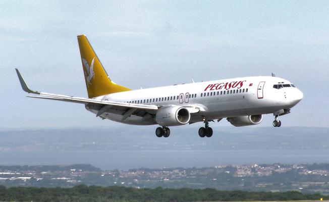 Pegasus filosunda iki uçak eksildi