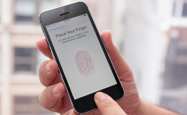 Apple'dan yeni Touch ID patenti