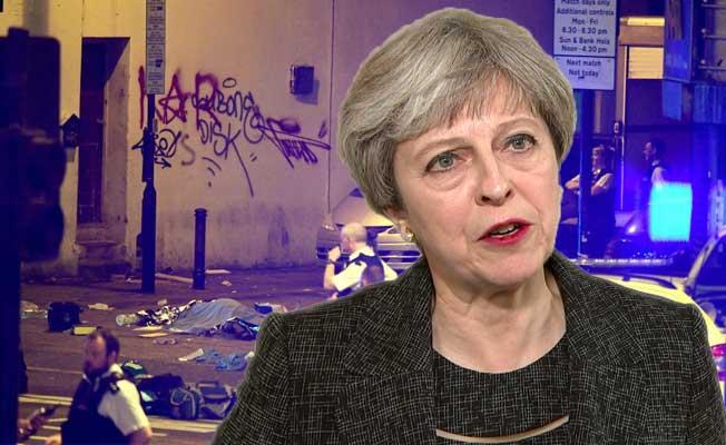 Başbakan May'dan son dakika saldırı açıklaması