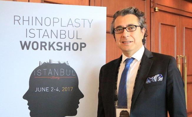 Ünlü burun cerrahları İstanbul'da toplandı