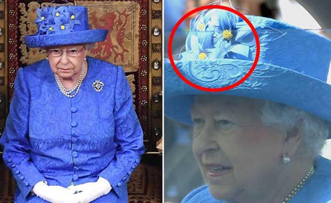 Kraliçe Elizabeth'ten 'gizli' mesaj!