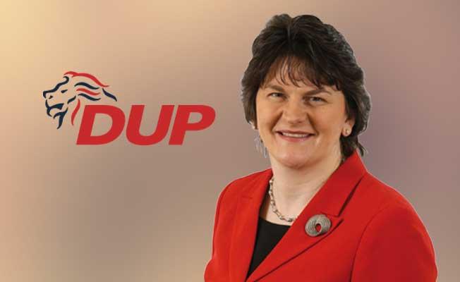 May'in 'Azınlık Hükümeti'nin anahtar partisi :DUP