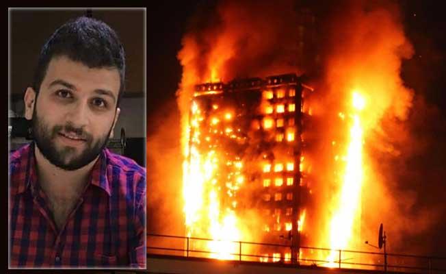 Suriye cehenneminden kurtuldu, Londra yangınında canverdi