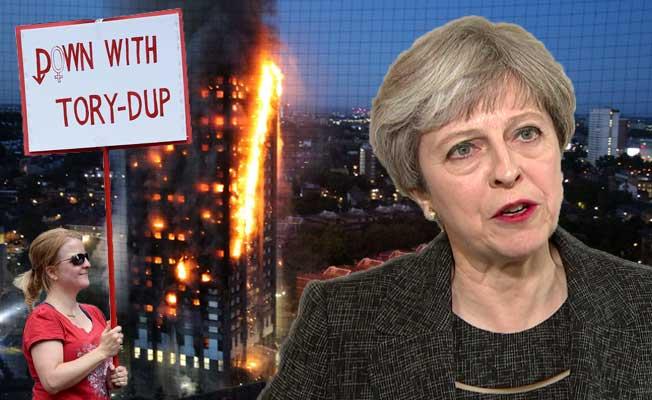 Theresa May, hedef haline geldi