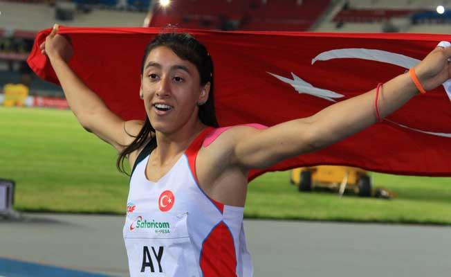 Atletizmin altın kızı Mizgin Ay