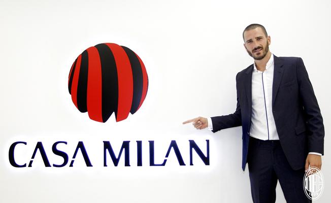 Bonucci Milan'a transfer oldu