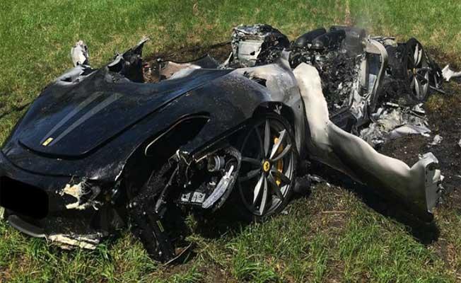 Ferrari'm yok diye üzülmeyin! İşte feci son!