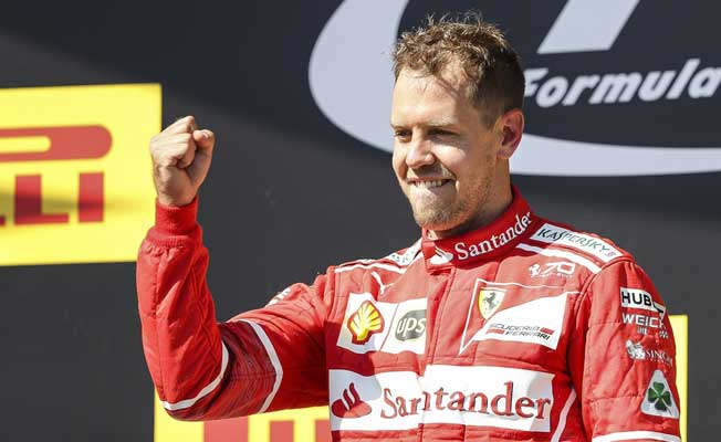 Formula 1, Macaristan'ta zafer Vettel'in