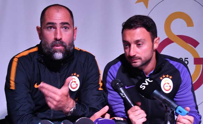Galatasaray'ın hocası Tudor kendinden emin konuştu