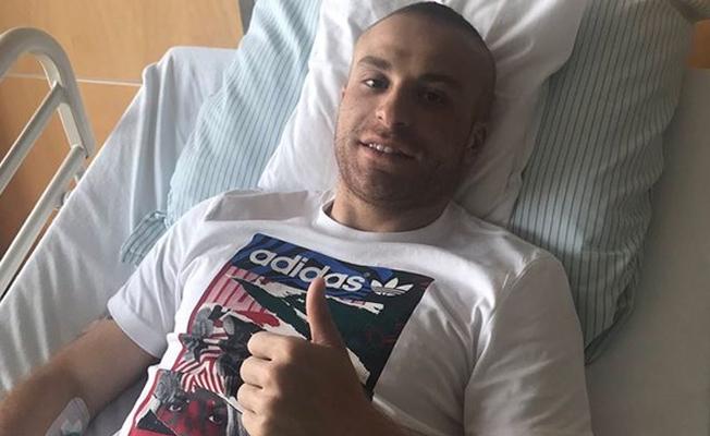 Gökhan Töre, Almanya'da ameliyat oldu