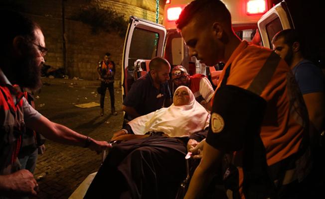 İsrail polisi namaz sonrası cemaate saldırdı: 13 yaralı