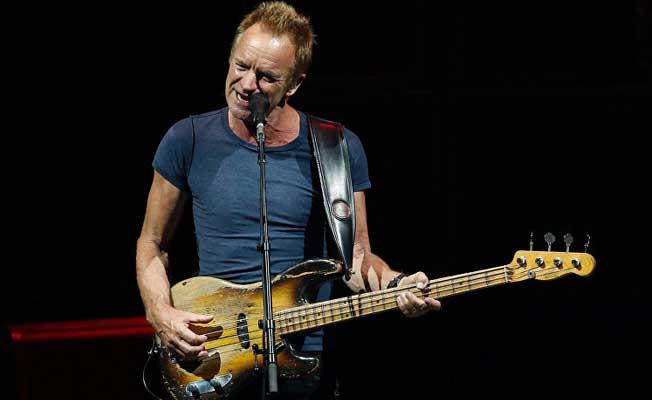 Sting, 104 bin euro'luk ödülünü mültecilere bağışladı