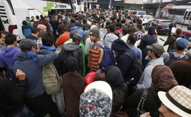 Almanya'da sığınmacılara tehdit
