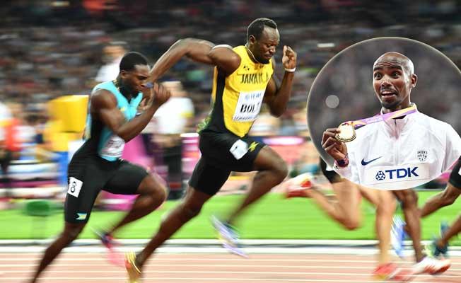 Atletizm'de Muhammed Farah altına uzandı