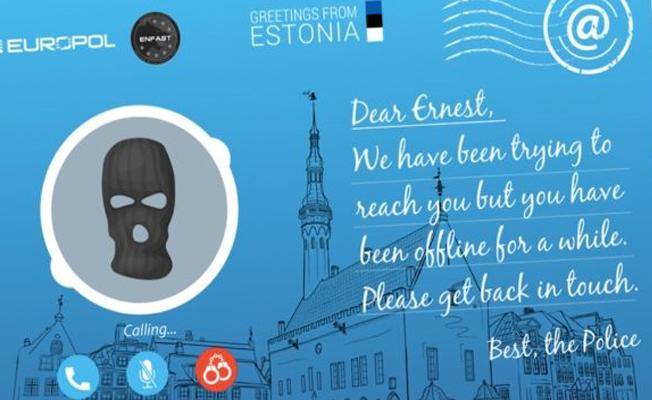 Avrupa polisinin suçlu arama taktiği