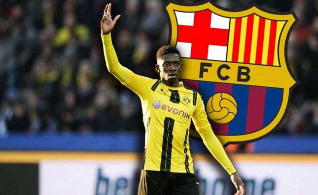 Barça, Dembele'yi transfer etti