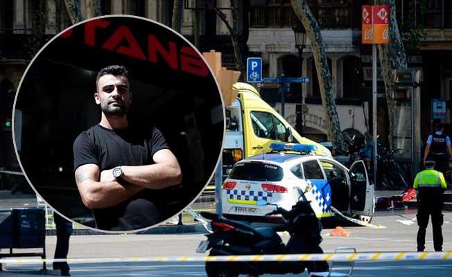 Barcelona'da saldırısında restoranın Türk sahibi, teröristlere direndi