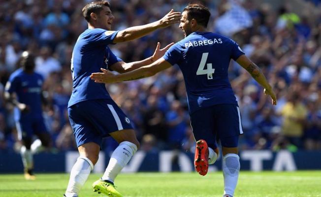 Chelsea ilk yarıda bitirdi