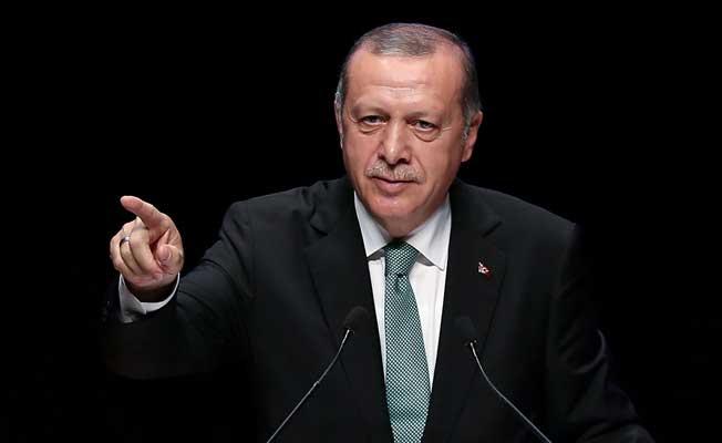 Erdoğan, Diyanet'in organizasyonunda konuştu