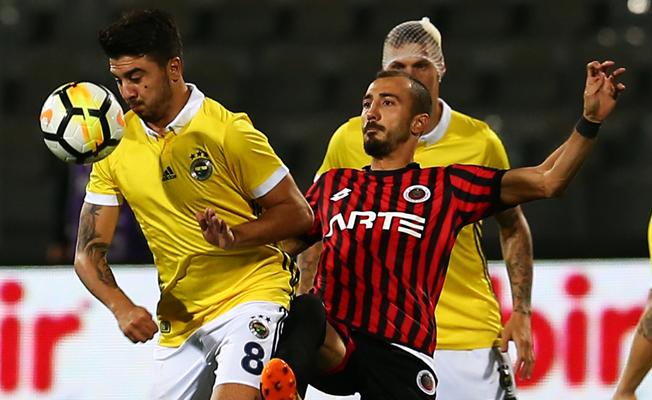 Gençlerbirliği'nin çabası yetmedi 3 puan Fenerbahçe'nin