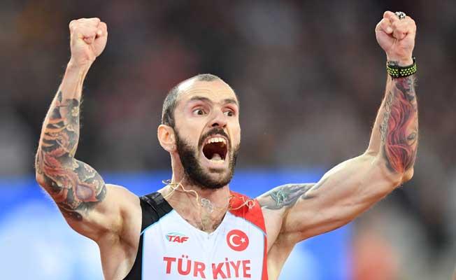 Guliyev, Türk atletizminin gururu oldu