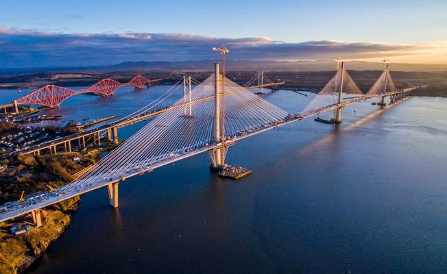 İngiltere'nin en uzun köprüsü açılıyor