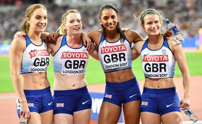 Kadınların Atletizm Şampiyonası'nda Kıyasıya Yarışı
