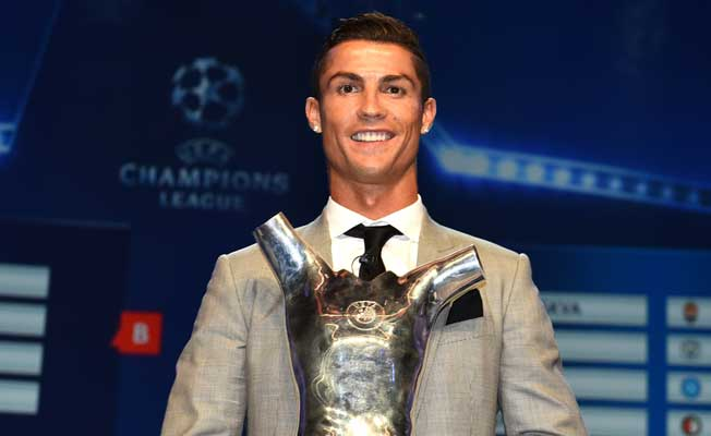 Ronaldo, Avrupa'da yılın futbolcusu