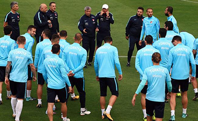 A Millî Takım Ukrayna maçına hazır
